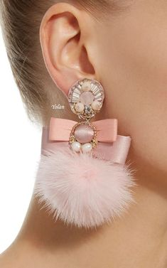 Click product to zoom tap the link now to see our super collection of accessories made just for you earringshandmade Diy Earrings, Tassel Earrings, Earrings Handmade, Handmade Jewelry, Stud Earrings, Fabric Jewelry, Beaded Jewelry, Fur Accessories, Lesage