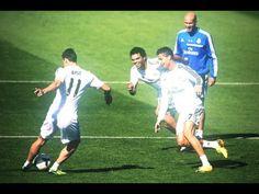 Gareth Bale owns Cristiano Ronaldo in training with a nutmeg HD