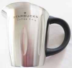 Starbucks Coffee Co Barista Stainless Steel Milk Soy Frother Steamer Pitcher