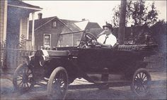 1915 - A Boy & His Car