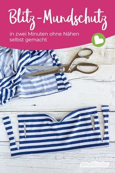 Upcycling the mouthguard from a T-shirt: finished in two minutes without sewing- Mundschutz aus T-Shirt upcyceln: ohne Nähen in zwei Minuten fertig If you need a face mask quickly, you can … - Easy Face Masks, Diy Face Mask, Make Your Own, Make It Yourself, How To Make, Diy Y Manualidades, Diy Mask, Ideias Fashion, To My Daughter