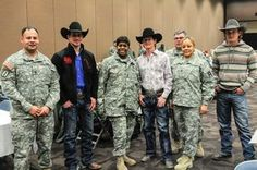 DivWest Soldiers attend Fort Worth Stock Show, Rodeo