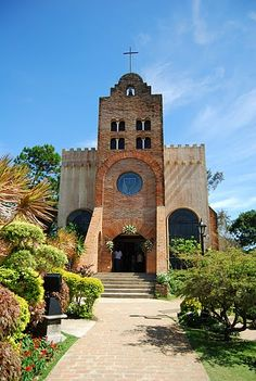 Rising tall and majestic in the highest point of Caleruega is the Transfiguration Chapel. From here one can behold the expanse of Caleruega and witness the The Transfiguration, Visayas, Wedding Planning Timeline, Mindanao, Tagaytay, Earth Surface, Nature Water, Sea And Ocean, Cebu