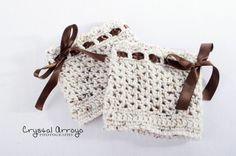 How to Crochet Boot Cuffs   ... only. Add bows to crochet boot cuffs. ...   Crochet-Feet