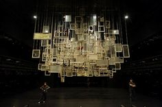 """stage design for """"Tattoo"""" (Dea Loher) ,.at New National Theatre Tokyo, Japan"""
