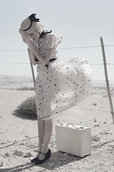 """""""White Mischief"""" by Tim Walker   Vogue UK, May 2011."""