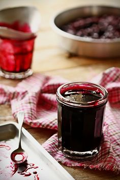 """Blackcurrant jam, from """"Berries & small fruits"""""""
