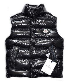 08368ad76e33 Cheap Moncler TIB Design Men Down Vests Sleeveless Black