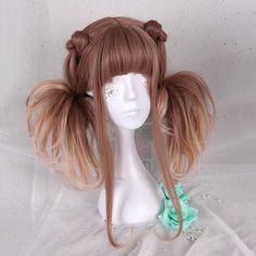 Sweet Harajuku Original Brown Lolita Wigs YS100A