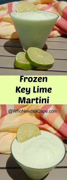 Frozen Key Lime Delish Summer Drink