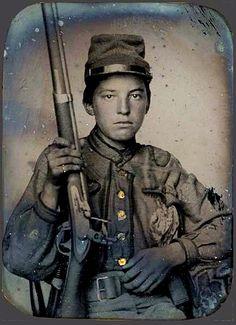William T. Biedler CSA, abt 15 years old #CivilWar #History #Confederate