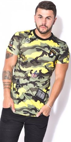 Camo with patches t-shirt - that should be mine!