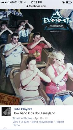 My band's going to Disneyland next year we are SO doing something like this
