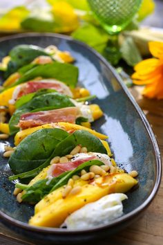 Tapas, Raw Food Recipes, Healthy Recipes, Crockpot, I Foods, Clean Eating, Good Food, Veggies, Lunch