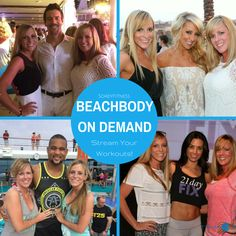 Beachbody On Demand will allow you to stream your favorite Beachbody workouts like P90X, TurboFire, 21 Day Fix, and Insanity anywhere!