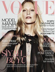 Vogue Turkey January 2013 : Poppy Delevingne by Alvaro Beamud Cortes