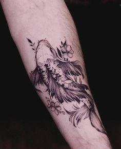Amazing Koi Fish Tattoo