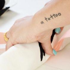 Funny tattoo @Carly Saxon