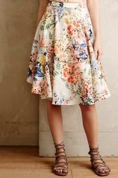 Jardin Skirt - anthropologie.com