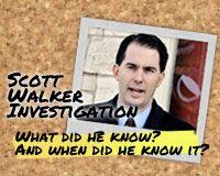 Scott Walker Investigation