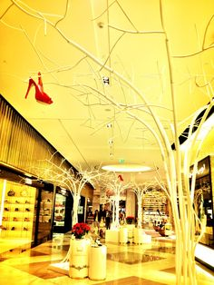 : Shoes do grow on trees Travel Fashion, Oh The Places You'll Go, Dubai, Bee, Around The Worlds, Window, Display, Inspiration, Shoes