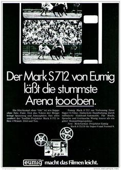 Original-Werbung/ Anzeige 1969 - EUMIG MARK S 712 PROJEKTOR - ca. 180 x 240 mm