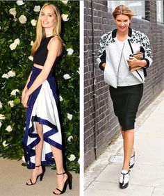 Crop tops and bomber jackets we simply can't resist! http://shop.harpersbazaar.com/in-the-magazine/the-style/