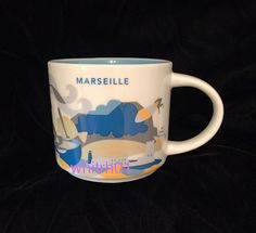 Starbucks Marseille Mug YAH France Longchamps Palace Coffee Cup You Are Here   Collectibles, Advertising, Food & Beverage   eBay!