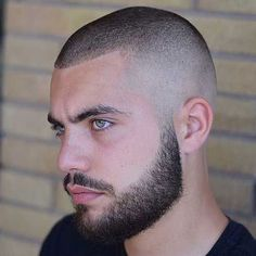 54 Cool Beard Styles For Handsome Men In This Year While countless beard styles had graced the huge screen and lots of award nights in the calendar year we've […] Hairstyles For Receding Hairline, Receding Hair Styles, Best Beard Styles, Hair And Beard Styles, Buzz Cut Hairstyles, Cool Hairstyles, Hairstyles 2018, Crew Cut Haircut, Quiff Haircut