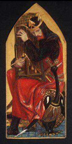 King David, by Dante Gabriel Rossetti
