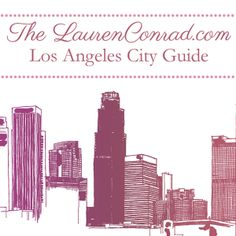 HA! They must have known I was traveling this weekend :) Thanks @LaurenConradcom - L.A. City Guide