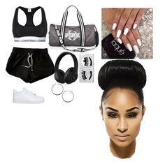 """""""Untitled #275"""" by queen-ayanna on Polyvore featuring Calvin Klein Underwear, NIKE, Beats by Dr. Dre, Chiara Ferragni and Dorothy Perkins"""