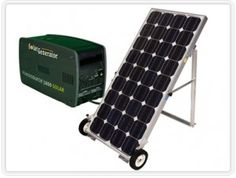 You can run lamps, TV, small refrigerator, radio, fans, computer, charge cell phone.. all from the sun! Or if you want... you can keep your battery charging from your wall outlet instead. This solar panel and battery are GREAT for going camping... and if or when times get tough. You will have a free source of eletricity to run some of your appliances..EVEN AT NIGHT! This product is a must have. Even if the lights go out at night. Just plug a in a lamp…