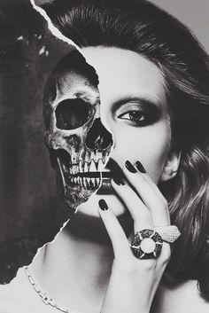 Beautiful Decay #skull #model