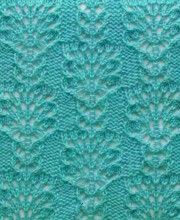 Lace Knit Stitch Free Knitting Patterns​ http://knitchart.com/category/lace-knit-stitch-patterns.html