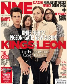 Kings of Leon, NME cover
