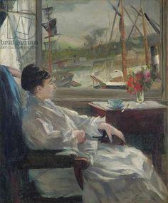 Portrait de Eva Gonzalès (à Dieppe), c.1880 (oil on canvas) Painters, Art Gallery, Portrait, Art Museum, Portrait Illustration, Portraits, Head Shots