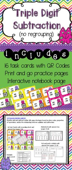 61111 Best Math For Second Grade Images On Pinterest In 2018