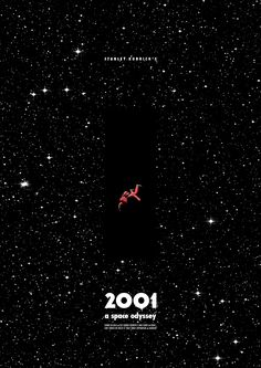 Movie Poster Movement — 2001: A Space Odyssey by Juarez Tanure