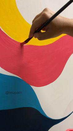 Simple Canvas Paintings, Happy Paintings, Art Drawings For Kids, Art Drawings Sketches Simple, Art Painting Gallery, Canvas Painting Tutorials, Oil Pastel Art, Mini Canvas Art, Linnet