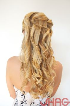 NEW TREND HAPPENING OF COMBINING BRAID'S AND UPDO'S. GREAT UPDO IDEA!  PHOTO BY SANDY POIRIER