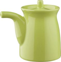 Green Sauce Pot in Spring Greens Kitsch, Lime Sorbet, Red Kitchen, Dessert Bowls, Salad Bowls, Spring Green, Watering Can, Crate And Barrel, Crates