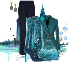 """Tailored Pants"" by suzi70 ❤ liked on Polyvore"