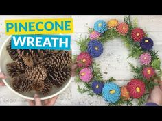 Pine Cone Wreath Lots Of Gorgeous Ideas   The WHOot