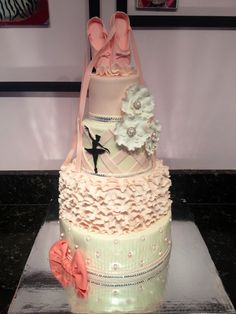 Ballerina Birthday - Everything is edible and hand made except the gem stones