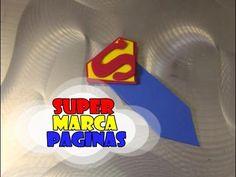DIY.: Superman + Marca Páginas #diy #doityourself #manualidades #tutorial #passoapasso #comofazer #molde #superman #superpai #diadospais #papai #heroi #ligadajustiça #superhomem #gomaeva #marcapaginas #book #livros #livros #leitura #canal #youtube #tadearte