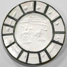 Picador, 1953  Picasso Ceramic at Masterworks Fine Art