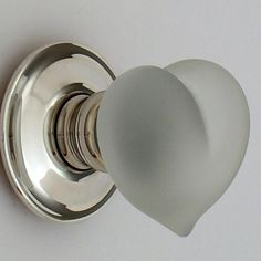Heart shape door knob - and not just a little erotic while it's at it...