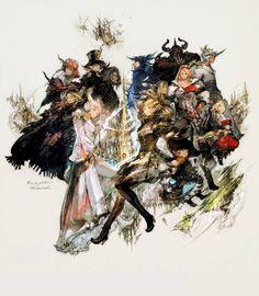 Final Fantasy XIV - Kazuya Takahashi