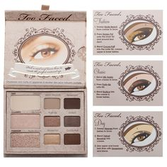 Too Faced Natural Eye Collection   Beautylish